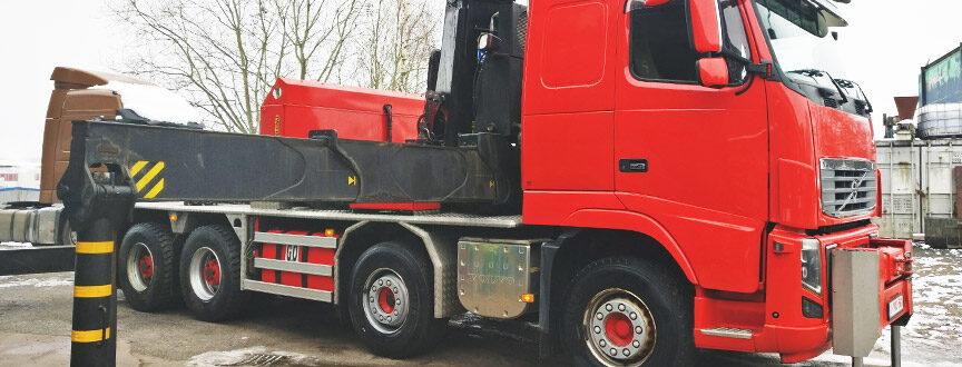 Efm Steel s'offre un nouveau Camion Grue